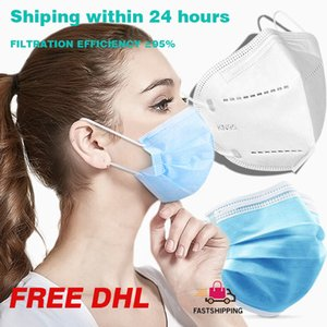 Free DHL Shipping Disposable Face Mask 3 Layers Designer Mouth anti dust pm2 5 Masks filter facemask kids children respirator maske