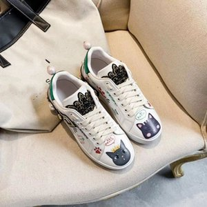 high quality Fashion Rock Runner Camouflage Leather Sneakers Shoes Men,Women Rock Studs Outdoor Casual CAMUSTARS Trainers kjm02