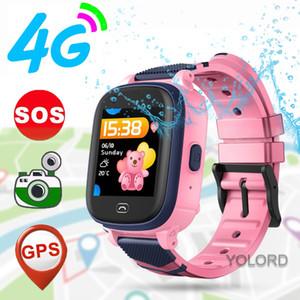 Beautiful Cute Gift 4G Smart Watch GPS Tracker GPS LBS Remote Monitoruing Positioning Call Children Smart Kids Watch A60