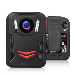BOBLOV G2A 2K 1440p Vücut Aşınmış Kamera Vücut Gece Görüş Kamerası GPS Polis kam DVR Kaydedici Mini Kameralar Yeniden kayıt Monteli