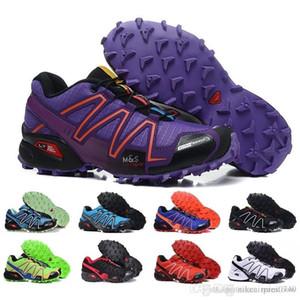 Salomon 2019 venta al por mayor Hot Zapatillas Speedcross 3 diseñador de lujo zapatos casuales hombres Speed cross caminar zapatillas deportivas tamaño 40-46