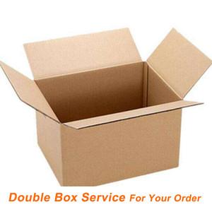 Çift Kutusu İçin Çift Kutu Servisi [EPACKET 5USD] için Ödeme [DHL EMS 15USD] Ekstra Ödeme Ücreti