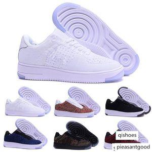 Fashion Men Shoes Low One 1 Men Women China Casual Shoe Fly Designer Royaums Type Breathe Skate knit Femme Homme 36-45 W1