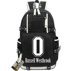 Russell Westbrook backpack 0 star daypack بارد حقيبة مدرسية جيد packsack حقيبة كمبيوتر محمول على ظهره حقيبة مدرسية الرياضة خارج حزمة يوم الباب