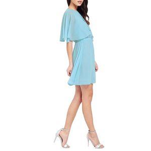 Wholesale-New Fashion Plus Size 6XL 2016 Summer Slim Loose Beach Skater Solid Dress Chiffon Women Office Vintage Casual Dresses XXXXL 5XL