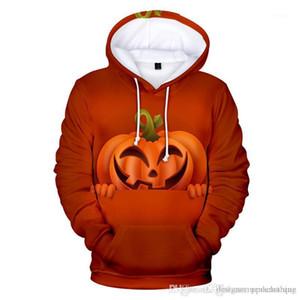 Hoodies d'hiver épais 3D Printed manches longues à capuche Couples Sweatshirts Mode Hommes Designer hoodies Halloween Bat Mens