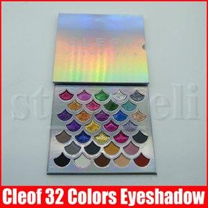 Cleof palette 32 couleurs de la mode Femmes Beauté Cosmétique La Sirène Glitter Palette Maquillage des yeux Fard à paupières Livraison gratuite