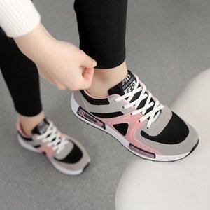 2019 весной и осенью Корейские тапки женщин все-в-одном прогулочной обуви, Аган обувь, дышащий скейт обувь, плоскодонные кроссовки