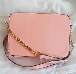 Kaliteli yeni moda kadın çantaları bayanlar Messenger çanta omuz rahat zincir Küçük kare çanta çanta için Kadın