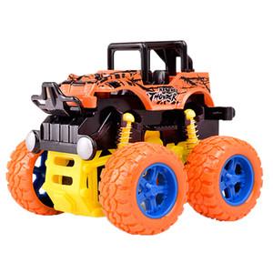 Desarrollado por fricción Monster Truck inercia del coche grande del neumático rueda de camión de juguete, regalo de cumpleaños para los niños