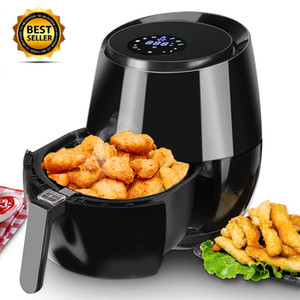 Deep Fryer Air Fryer Digital LED Touch Screen Timer Temperature Control Power Air Fryer Eletric Air Frier Electric Thermal Cooker