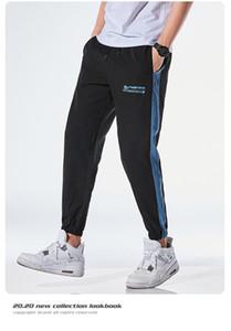 Mens Lettere del progettista ansima il modo con coulisse matita pantaloni con tasche Uomo sportivo metà di vita pantaloni Capris