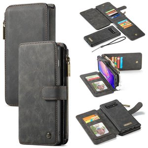 Luxury Flip Leather Phone Case For Samsung Galaxy Note10 S10 5G S10e Note9 S8 With Card Slot hot