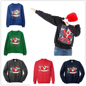 Unisex Men Women Santa Sweater Men's Matching Clothes Crewneck Couple Sweatshirt Christmas Sweater New Clothes Party Outfit