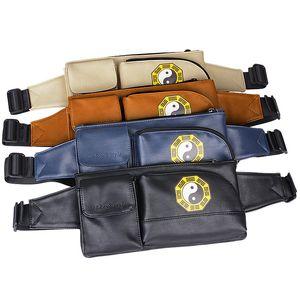 Сплетни Chest пакет Pu Mens Womens сотовый телефон Карманы Пользовательские Многофункциональный Running сумка Спорта на открытом воздухе Бег талии сумка