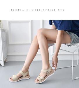 0722hzd232 новые Популярные на открытом воздухе прогулочные плоские тапочки мужские сандалии женские летние прохладные пляжные сандалии с коробкой