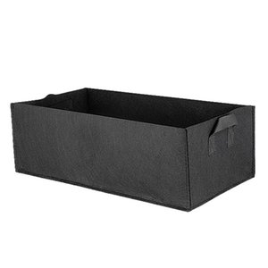 Handle Rectangle Eco-friendly Flower Non-woven Fabric Accessory Garden Bed Vegetable Planter Anti-Corrosion Grow Bag Outdoor