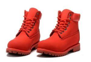 Hot Sale-Man 8 петельками 6-дюймовая Полусапоги мужские Timber Work Походные ботинки снежка зимы Boots для мужчин Brand New Размер США 8-13
