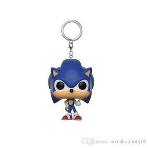 Nicegift Funko Pocket POP Keychain - Sonic the Hedgehog Vinyl Figure Keyring with Box Toy Gift Good Quality Limited styles