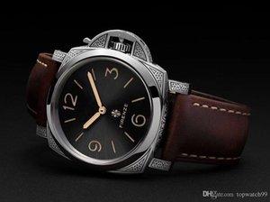 2019 new luxury Watch pam972 designer watches master leather band p3000 Movement hand wind men montre de luxe sports Wristwatches Waterproof