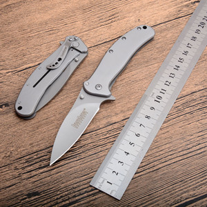 Kershaw 1730 Tactical Folding Knife 5CR13mov Blade Steel Handle Outdoor Camping Hunting Knife Assisted Survival Pocket Quick Open EDC Tools