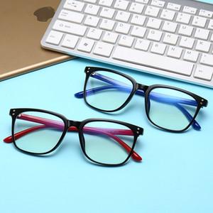 2020 new TR90 negative ion glasses frame anti radiation blue retro glasses frame ordinary men's and women's glasses sunglasses