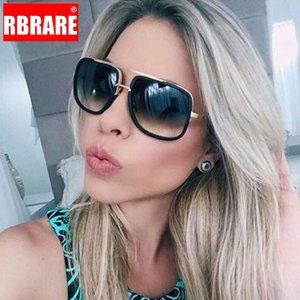 RBRARE Vintage Sunglasses Mulheres 2020 Womens liga óculos de marca Designer Retro Óculos Men Punk