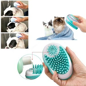 Pet bath brush Multifunction Cat Dog brush Shampoo Massage Brush Shower Hair Removal Comb For Cats Pet Cleaning Grooming Tool