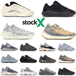 Stock X boost 700 kanye west Wave Runner Inertia Tephra Utility Black Vanta Runing Shoes Men Designer Shoes Women Sneakers 36-46
