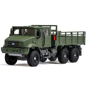 Rc ligas de carros Naughty caminhões de tração nas quatro rodas off-road subir 1:36 brinquedo modelo militar para as crianças