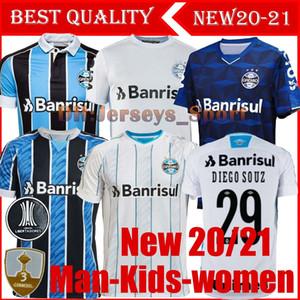 La mejor calidad 2020 Gremio fútbol Jersey 19 20 21 Gremio MILLER LUAN DOUGLAS DIEGO Hailon casa lejos camiseta de fútbol terceros Camisetas de futbol