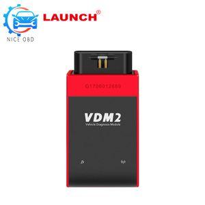 V3.9 UCANDAS VDM2 Wifi Auto herramienta de diagnóstico del sistema completo para Android actualización gratuita V3.9 VDMII uncandas mejor que easydiag/elm327