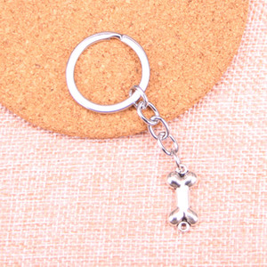 22 * 10mm köpek kemiği konektörü KeyChain, Yeni Moda El Yapımı Metal Anahtarlık Parti Hediye Dropship Mücevher