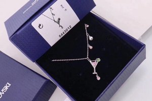Designer necklaces for women locket necklaces jewelry Free shipping best the new listing 2020 New fashion modern style elegant OVLM