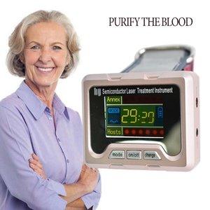 Портативный Главная лазерная терапия устройства, чтобы снизить уровень сахара в крови Здоровье мозга Очистить крови Enhancer сопротивления ринита Лечение