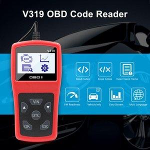 V319 OBD2 Codeleser-Scanner-Werkzeug Diagnosecodeleser OBDII EOBD lesen reinigen Störung ELM327 mehrere Sprachen