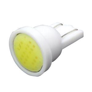 10PCST10 W5W 194 168 COB LED Car Instrument Dash Light Side Wedge Bulbs White