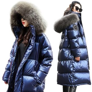 Women Down Jacket New Winter Coat big Real Fur Collar Women Long Paragraph Thickening Warm Hooded For Female Parka