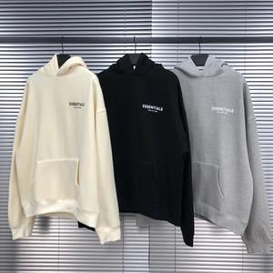 Hoodie der Männer beiläufige Art Essentials-Buchstabe-Druck mit 3 Farben Langarm-Shirts für Frauen Männer asiatischer Größe S-XL