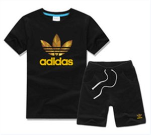 Baby Boys And Girls Designer T-shirts And Shorts Suit Brand Tracksuits 2 Kids Clothing Set Hot Sell Fashion Summer Children's T52468