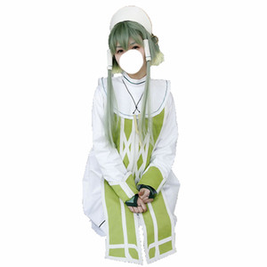Tales of the Abyss ion New Uniform COS Clothing Cosplay Costume with hair accessory