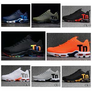 D05 2020 TN Plus Inheritance And Innovation Lime Blast And Platinum Tint Black White Explosion Yellow Mens Women Designer Running Shoes