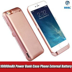 10000mAh Wireless Back Clip Battery shockproof Charger charging Back Cover Power Bank Case Phone Holder For iPhone 6 6s 7 plus adapter