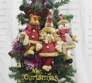 New Year Christmas Decorations for Home Pendant Christmas Ornaments Merry Christmas Tree Decorations Chrismas Toys free shipping