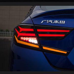 Car Styling fanalino di coda si illumina caso per Honda Accord 2018-2019 LED caso fanali posteriori per Accord Tail copertura della lampada baule posteriore Lamp