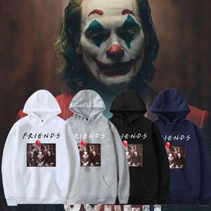 Erkekler tasarımcı Kapüşonlular Joker Harajuku Hoodie Amerika Film Komik Baskılı Eğlence Streetwear Moda Günlük Erkeğin sweatshirt Coats DHBOWY33