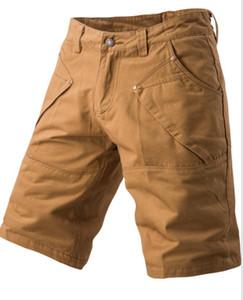 MS Hommes Shorts de sport 2019 cinq pantalons multi-poches salopettes hommes de couleur de bonbons pantalons grande taille shorts occasionnels des hommes Livraison gratuite 6088