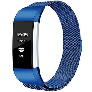 Fitbit Charge2 밴드 교체 용 Fitbit Charge 2 용 고유 자석 잠금 장치가있는 Milanese 루프 스테인레스 스틸 메탈 브레이슬릿 스트랩