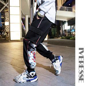 Cartoon Graffiti Print Letter Skate Pants Men Harajuku Pants Male Casual Fashion Trousers Hip Hop Joggers Sweatpants Streetwear