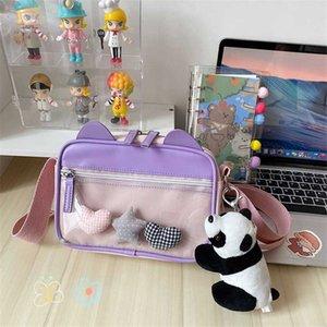 NEW Original Design Fashion Casual Graffiti One Shoulder Diagonal Bag Handbag Cute Width 20cm Height 15cm Thickness 6cm